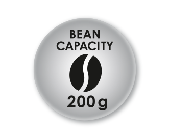 Maximum capacity  200g of coffee beans