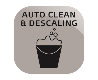 Funkcja automatycznego czyszczenia i odkamieniania