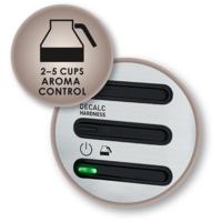Aroma Control: Pro plnou chuť i při malém množství kávy