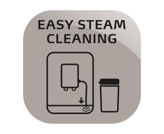 Łatwe czyszczenie parą