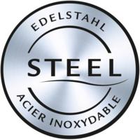 Elegant stainless steel panels