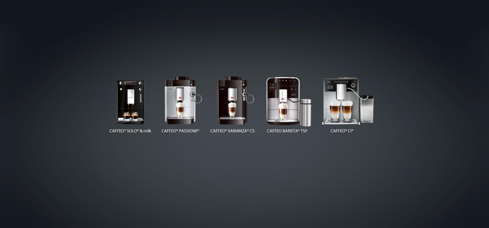 W pełni automatyczne ekspresy do kawy