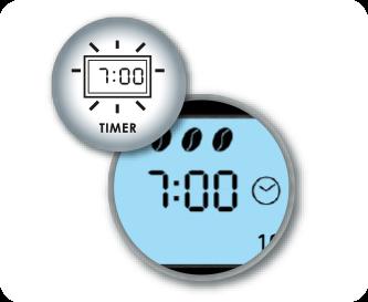 Praktyczna funkcja minutnika z zegarem, z wyświetlaczem LCD